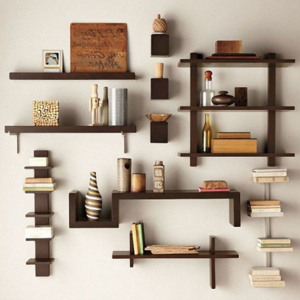 Awesome Diy Living Room Shelf Ideas Creative Diy Wall Shelves ...