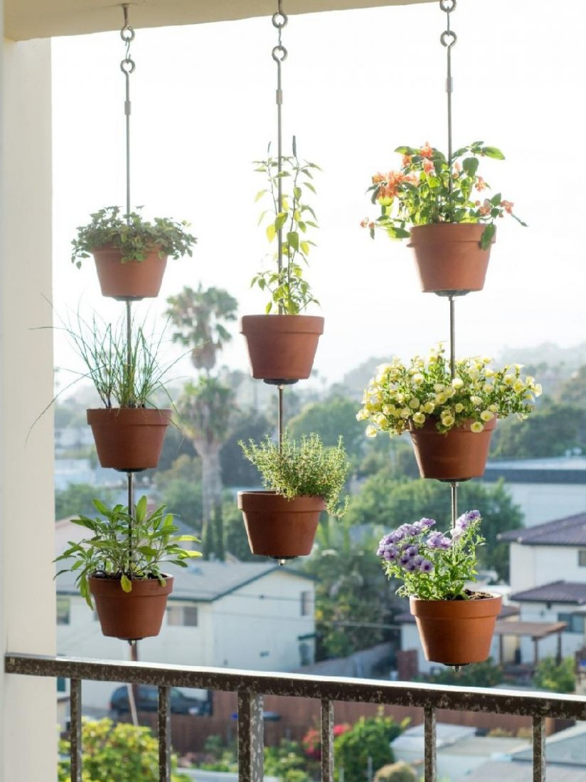 Awesome DIY Patio or Balcony Herb Garden Ideas Picture 12 ..