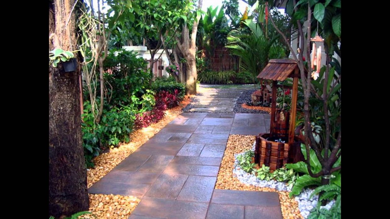 Awesome Garden landscaping ideas for small gardens - YouTube - backyard landscaping ideas youtube