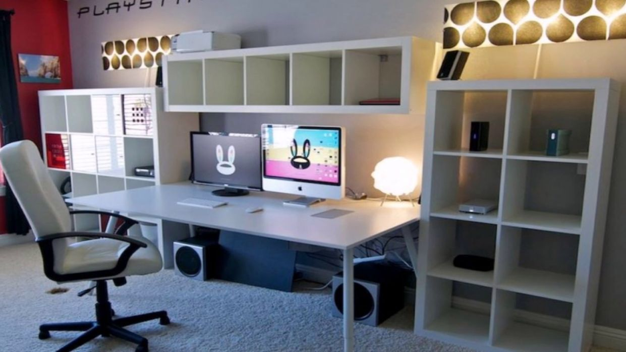 Awesome Ikea Home Office Decoration Ideas - YouTube