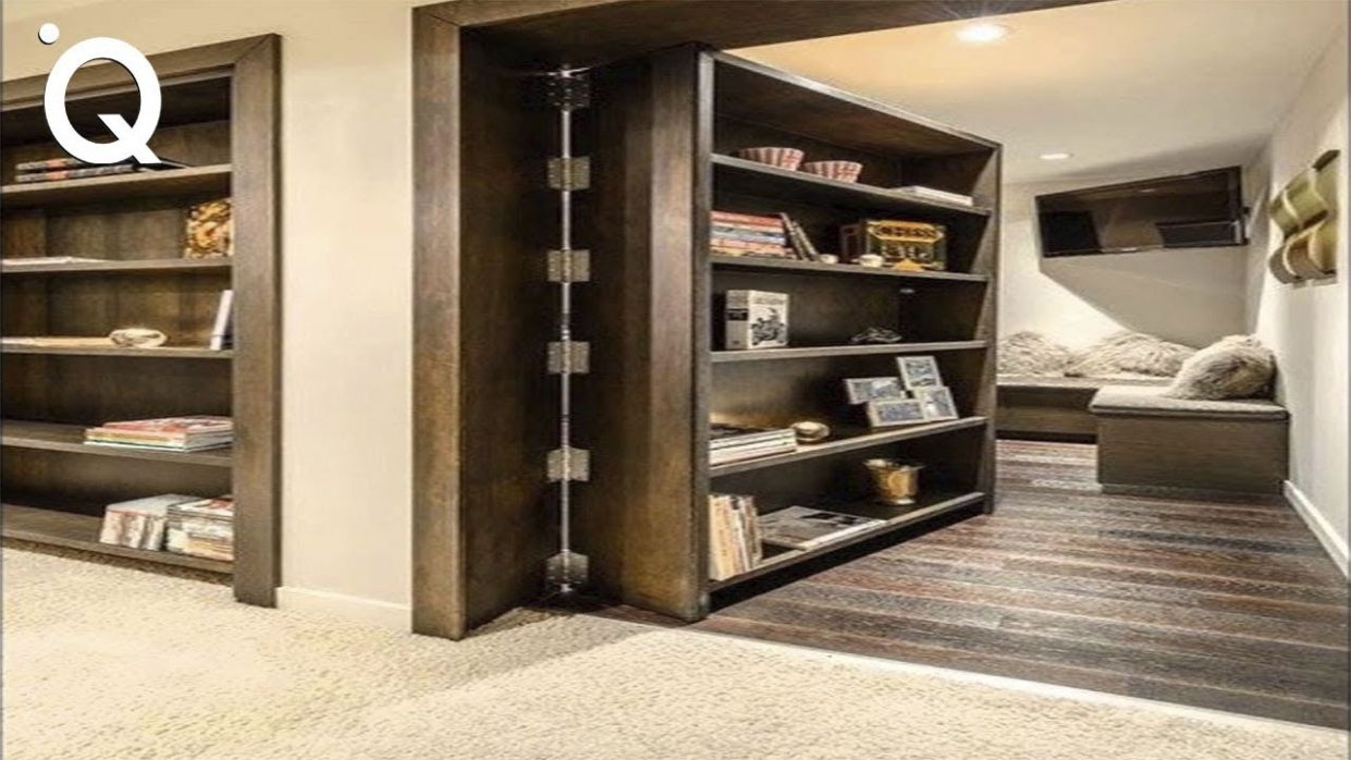 Awesome Secret Doors And Hidden Rooms | Ingenious Furniture ▶10