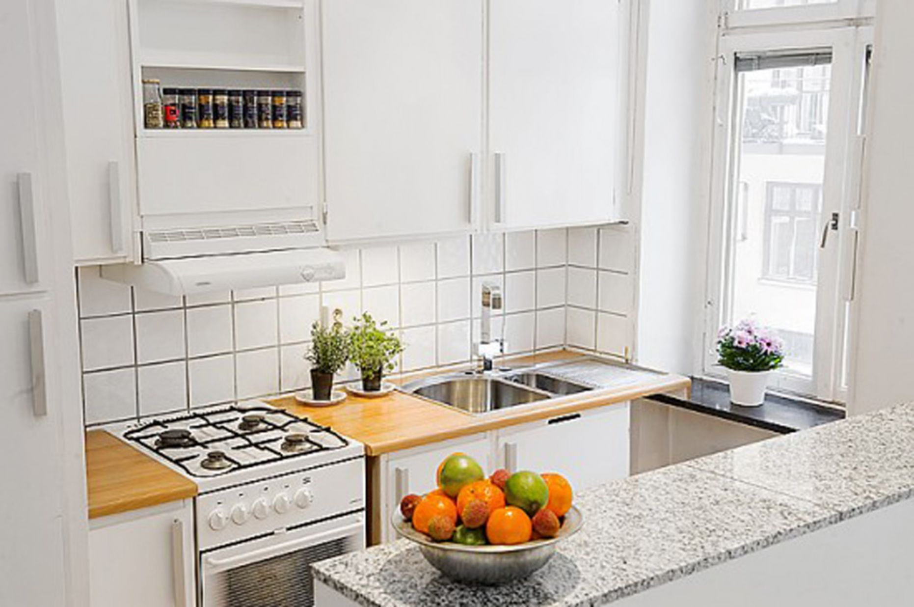 Awesome Small Kitchen Idea Apartment Amazing Of Excellent ...
