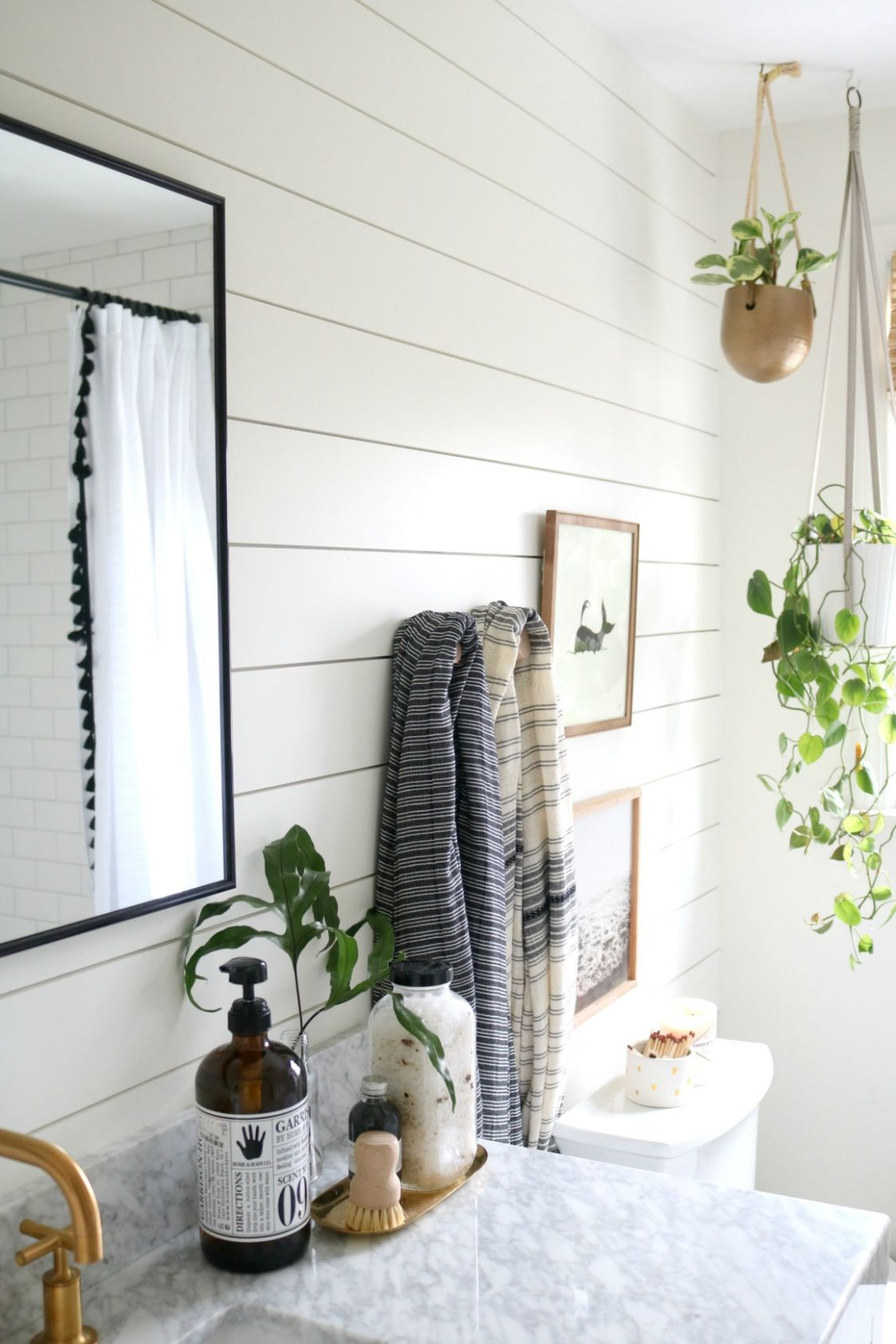 AZEK- The BEST Shiplap for Bathrooms - Nesting With Grace