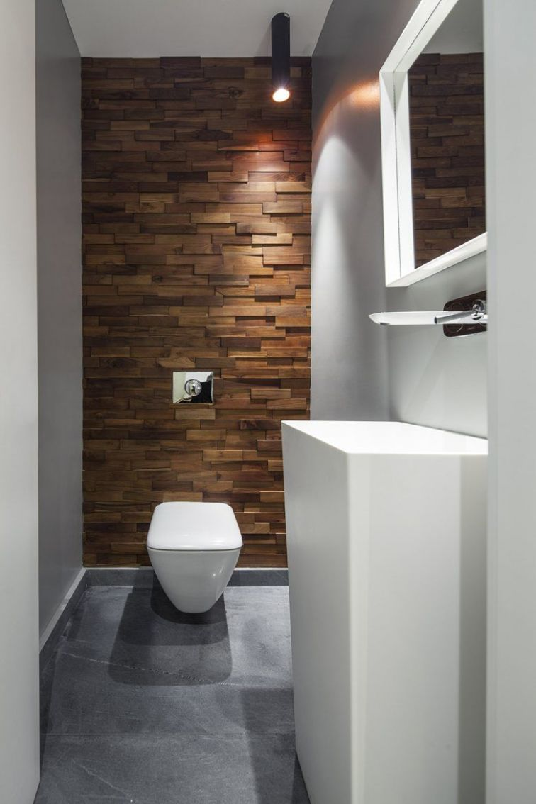 B House - Picture gallery | Wood bathroom, Bathroom interior ...