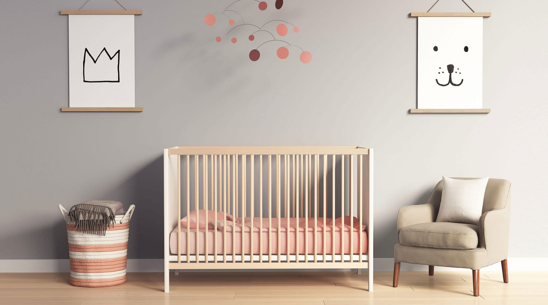 baby bedroom wall designs - Punkie - baby room wall ideas