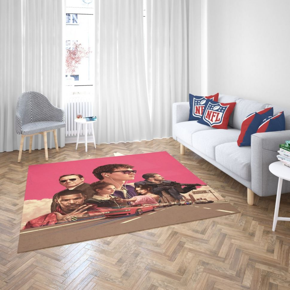 Baby Driver Movie Kids Bedroom Living Room Floor Carpet Rug | EBeddingSets - baby room flooring