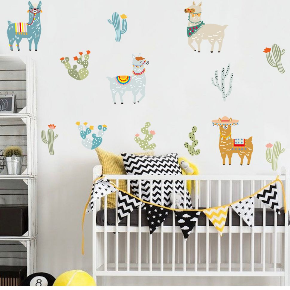 Baby Room Wall Decals Singapore Trees Ideas Walmart Nursery Art ...