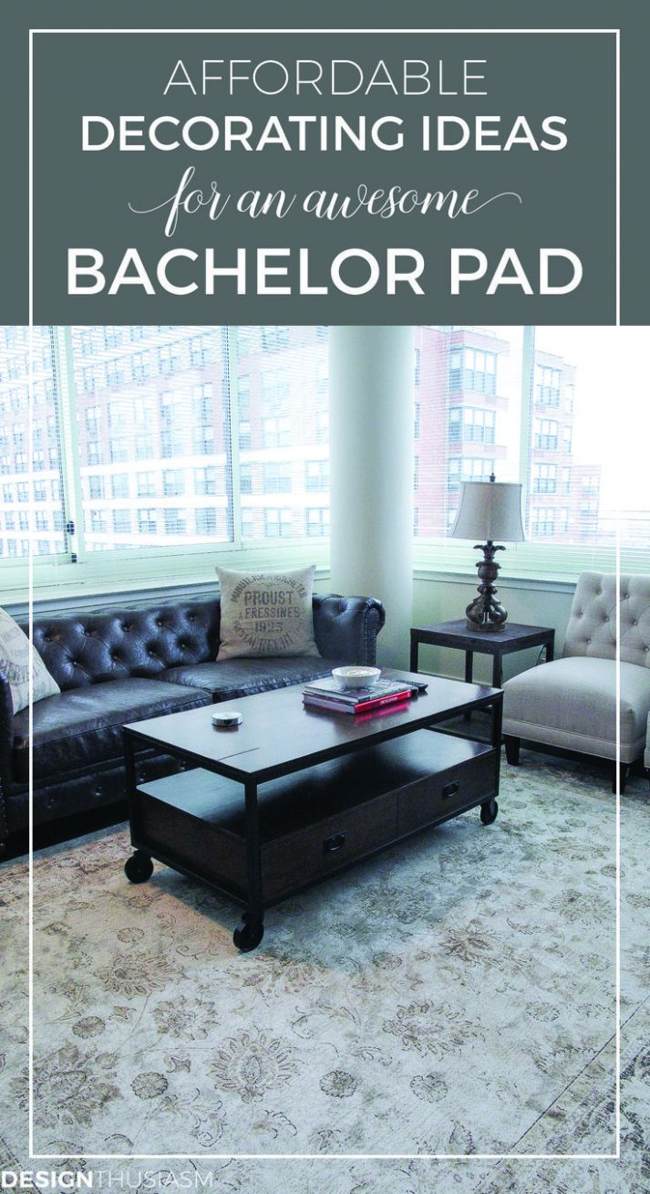 Bachelor Pad Ideas: Decorating a Young Man's Apartment on a Budget ...
