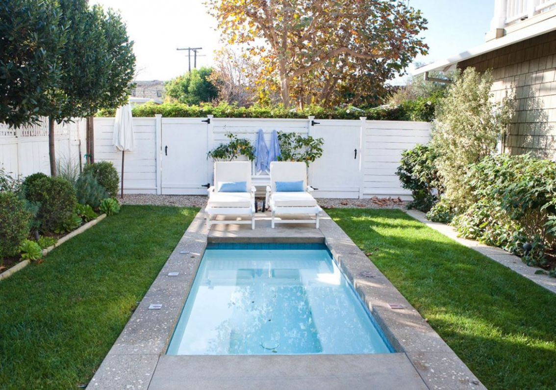 Backyard Landscaping With Small Pool Ideas - pool ideas and landscaping
