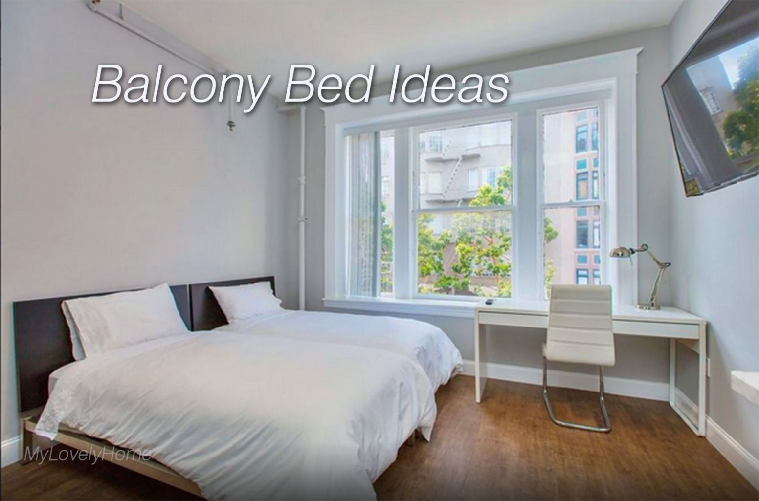 Balcony Bed Ideas Pictures Design - My Lovely Home - balcony bedroom ideas