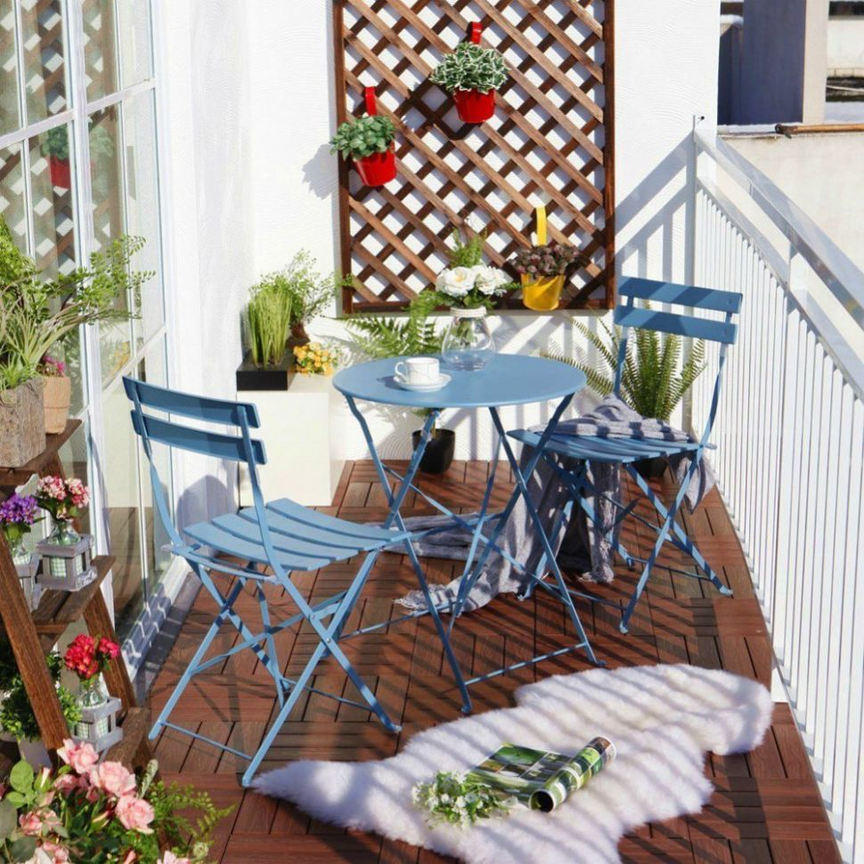 Balcony Chair and Table Design Ideas for Urban Outdoors | Bistro ..