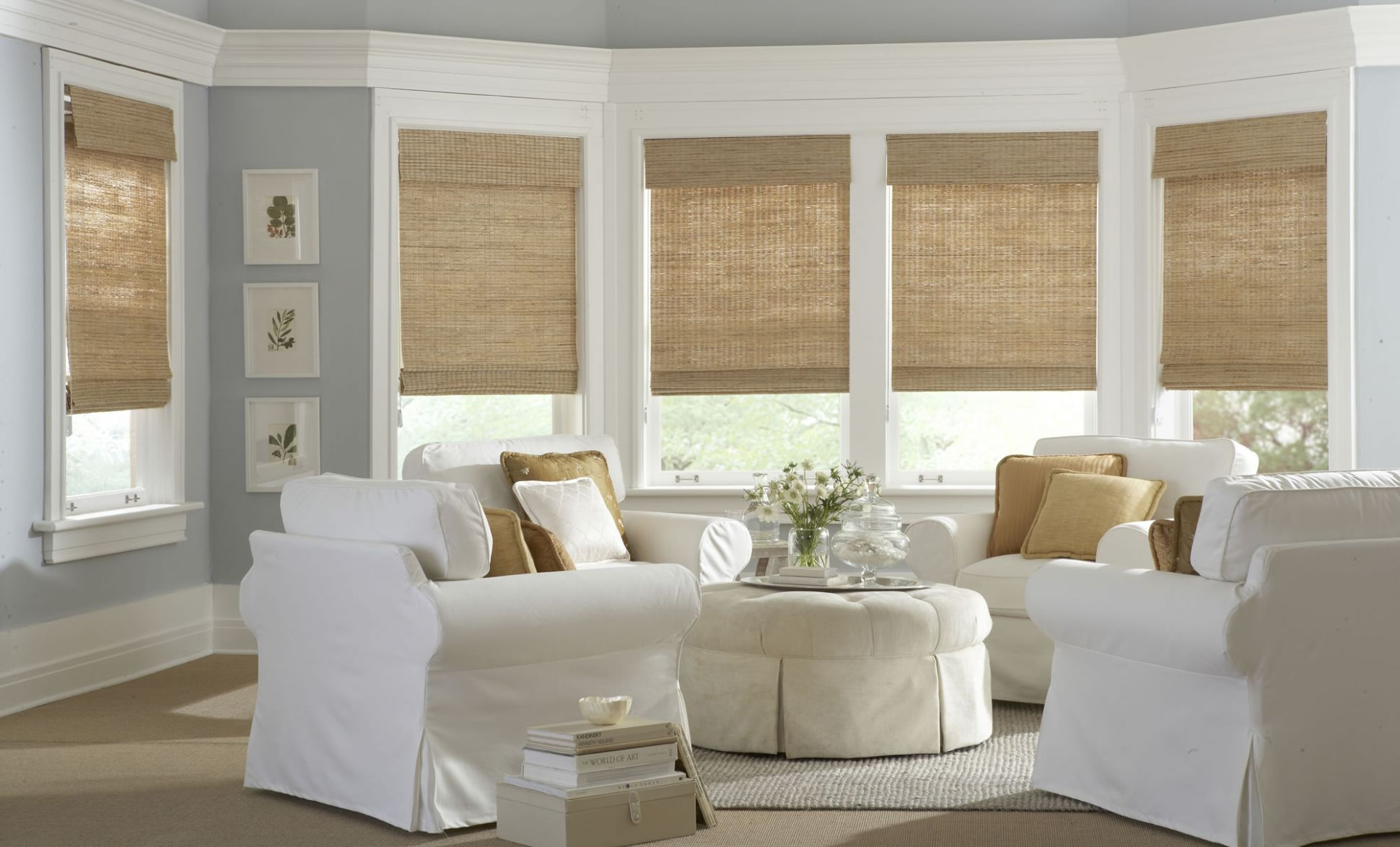 Bamboo window treatments for your home - Interior Design Explained - window shade ideas for your home