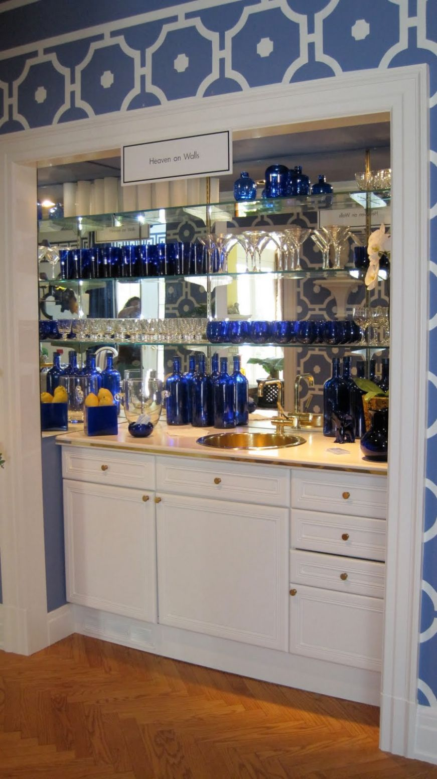 Bar Carts Are Out, & Bar Closets Are In – Page 10 – SheKnows - closet bar ideas