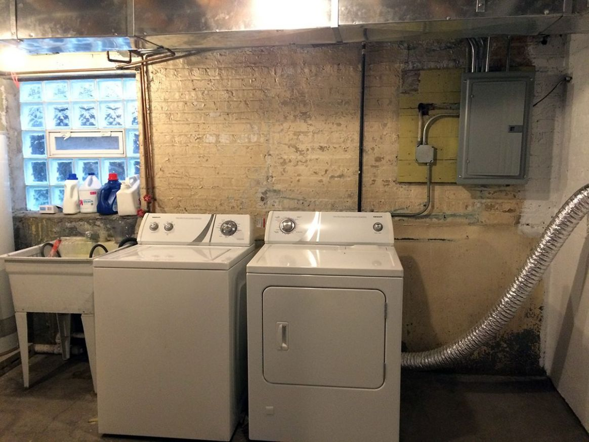 Basement Laundry Room Before and After | Basement laundry room ..