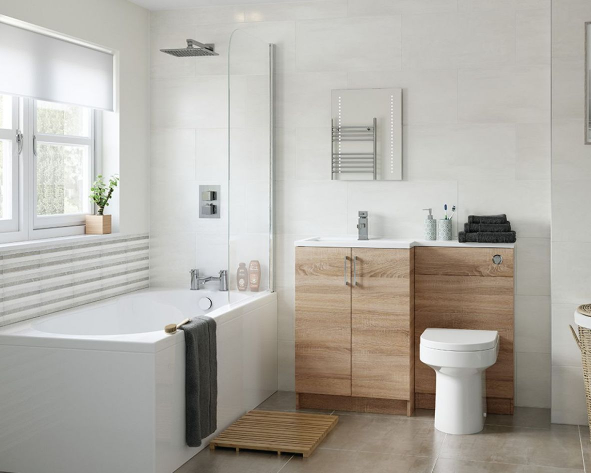 Bathroom Ideas on a Budget | Gardiner Haskins