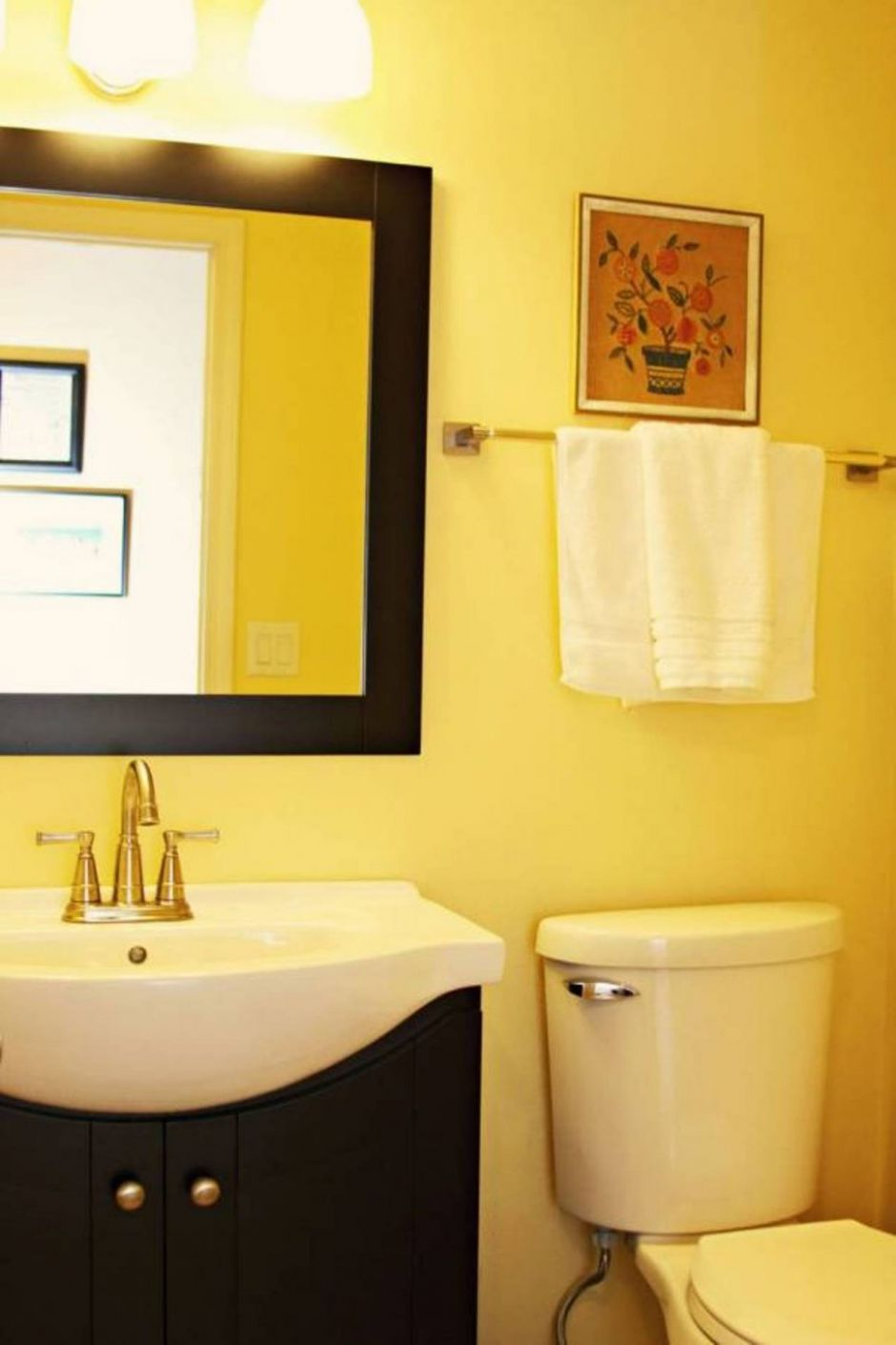 Bathroom : Small Bathroom 8 Yellow Bathroom Ideas Waplag In ..