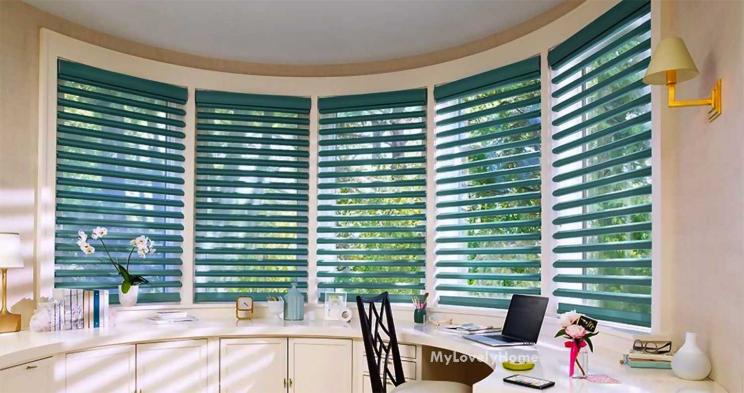 Bay Window Blind Pictures Design Ideas - My Lovely Home