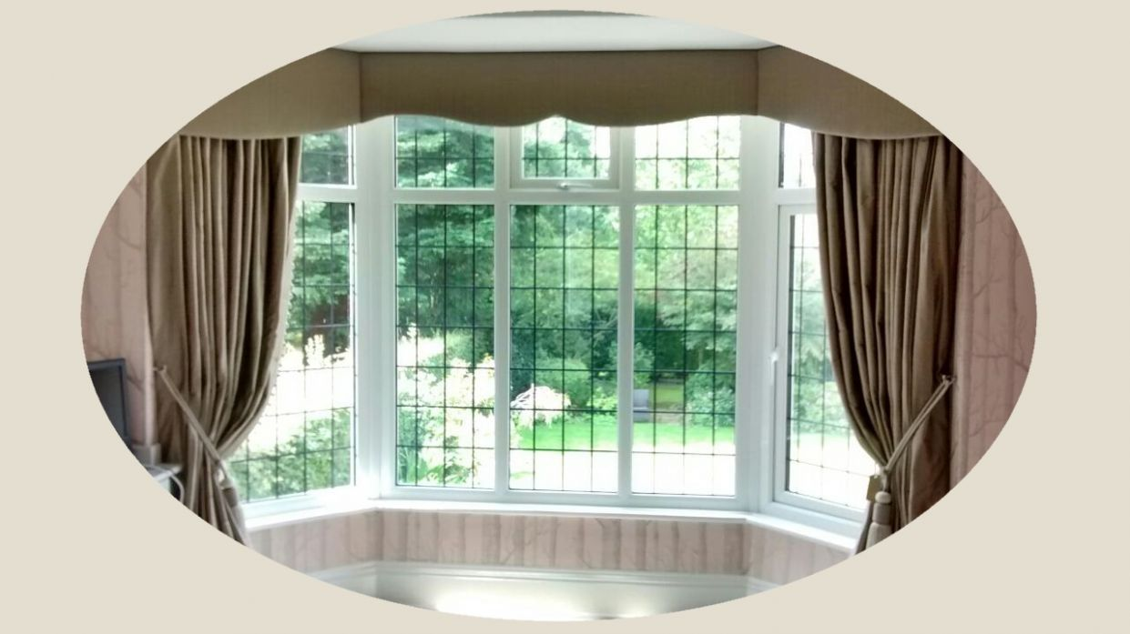 bay window curtain ideas that work perfectly and look great