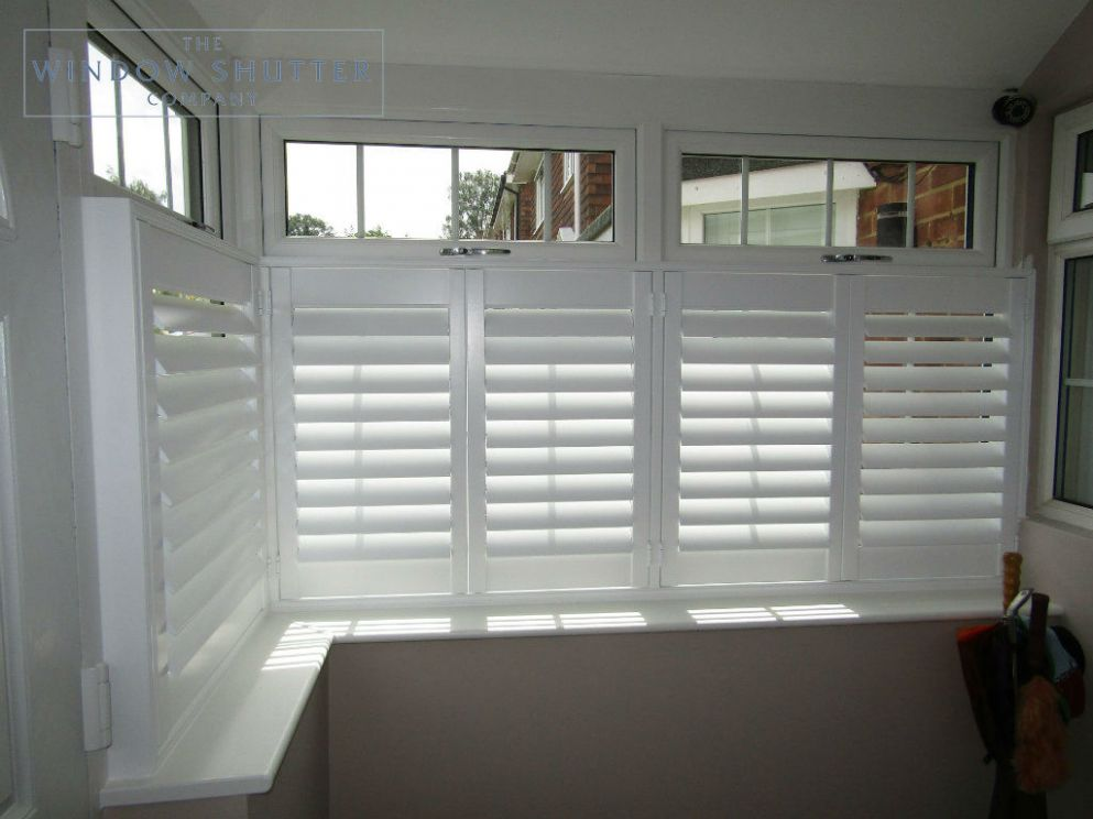 Bay Window Shutters | Custom-made to fit | The Window Shutter Company - bay window ideas uk