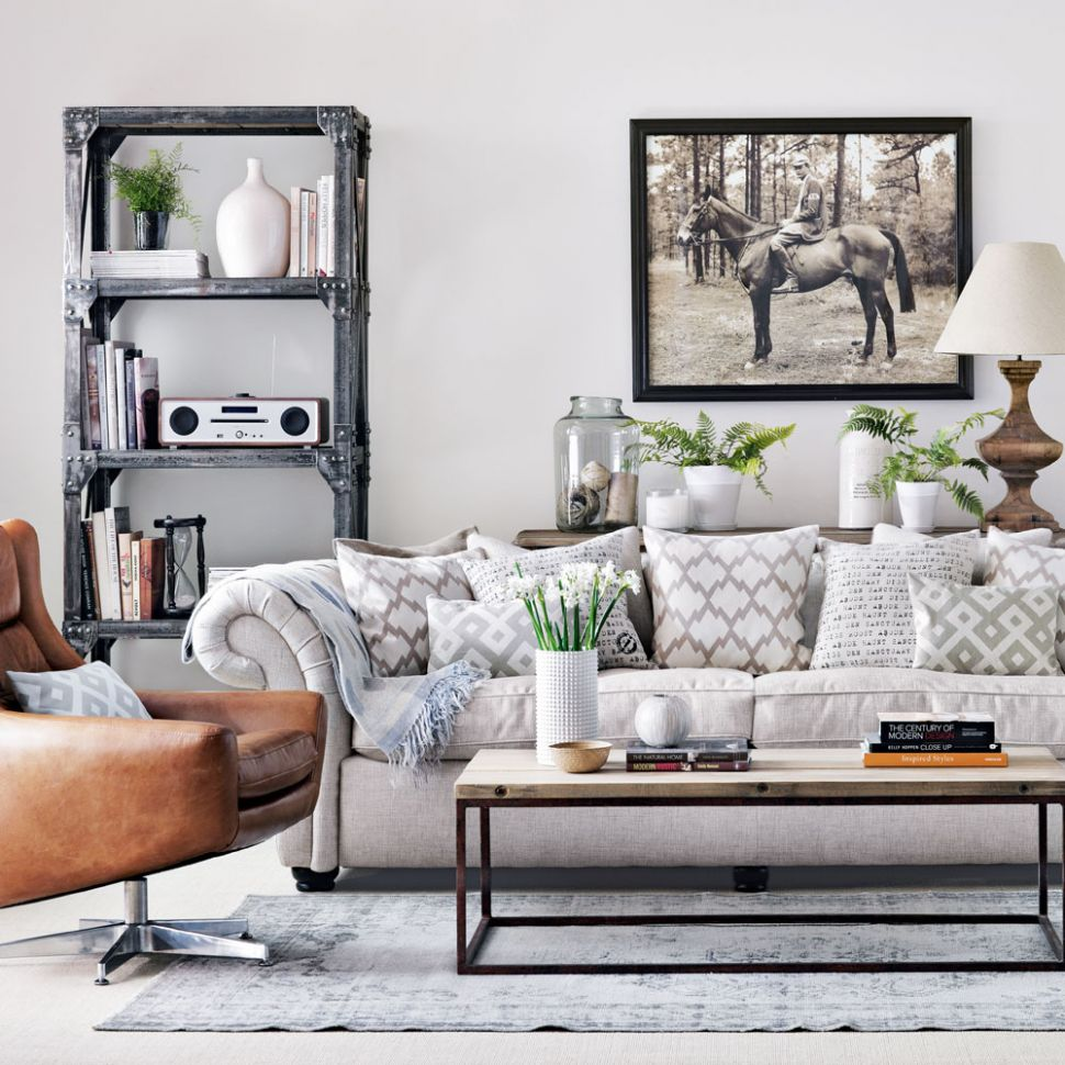 BB11 Grey Walls Living Room Design | Wiring Resources