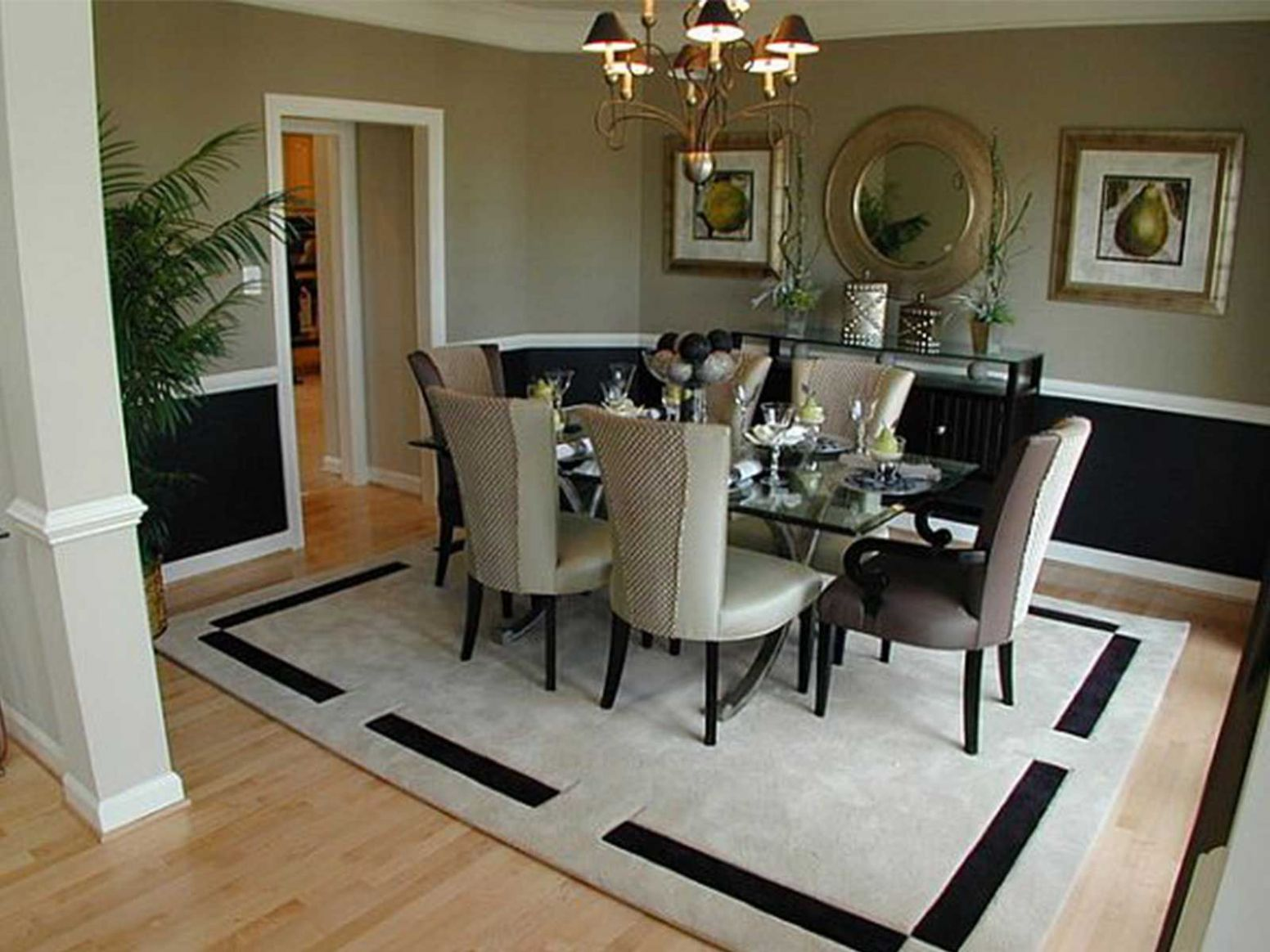Beautiful Dining Room Area Rug Ideas Photos Home Improvement ..