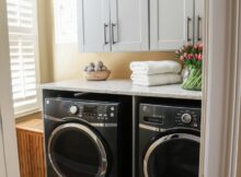 Beautiful Laundry Room Makeover with The Home Depot