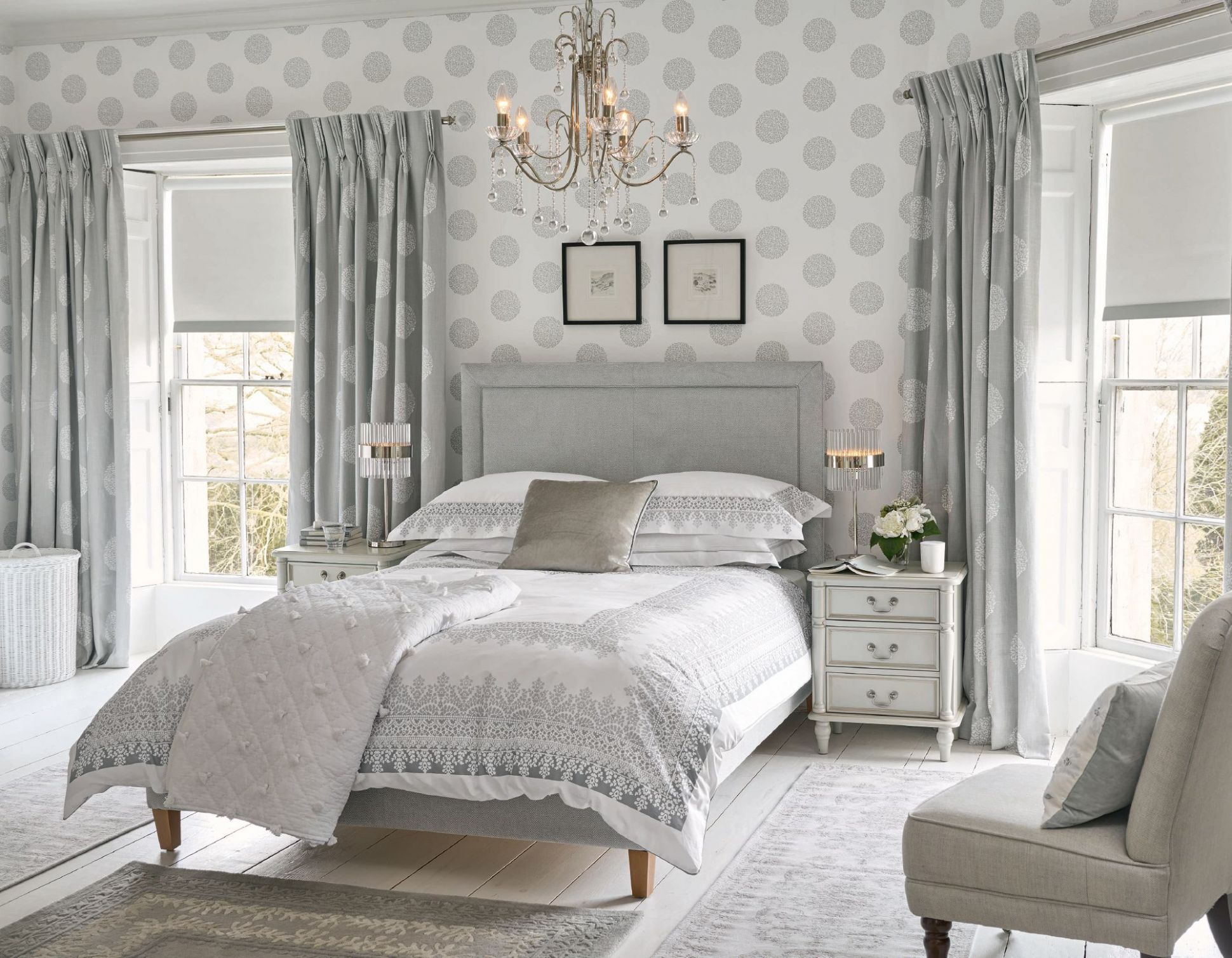 Bedroom Ideas To Fall In Love With | Ashley bedroom, Silver ...