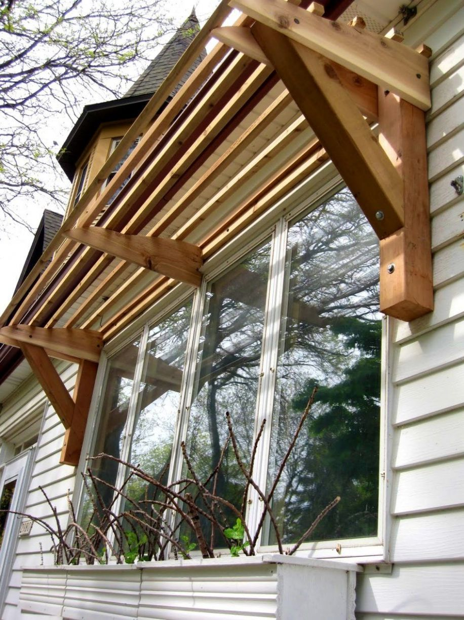 Bedroom, Inspiring Images About Awning Ideas Window Canopy Wood ..
