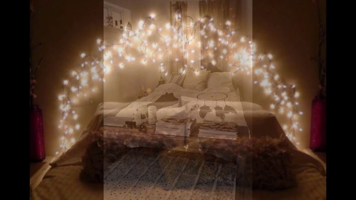 Bedroom : Marvelous Cool String Lights Ideas For Your Bedroom ..