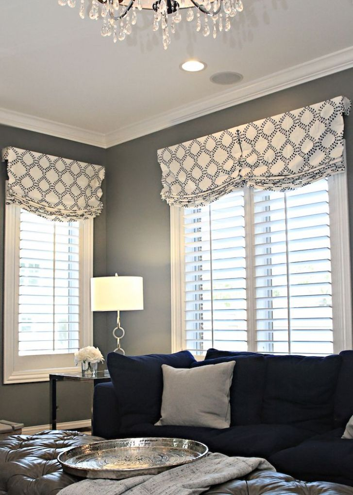 Before & After: Family Room for 10 | Valances for living room ..