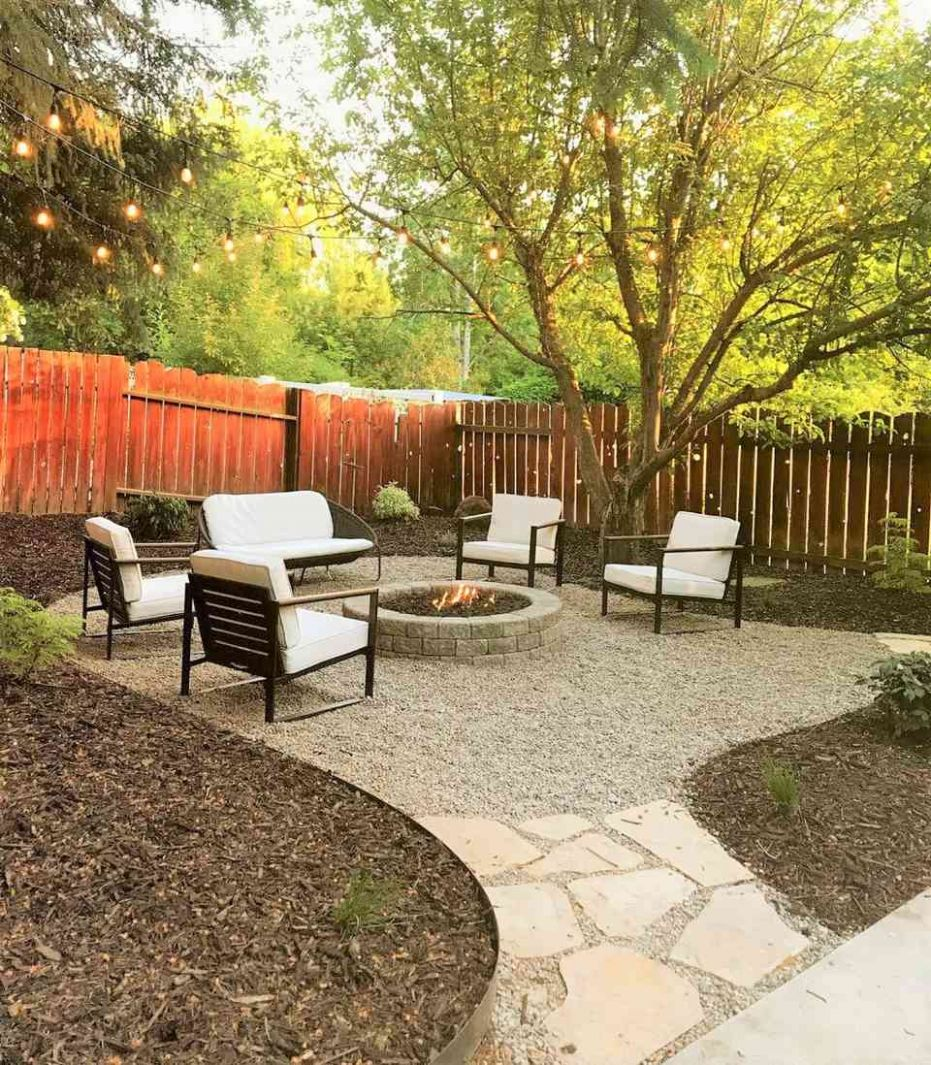 Before and After Backyard Makeovers - backyard ideas to cover dirt