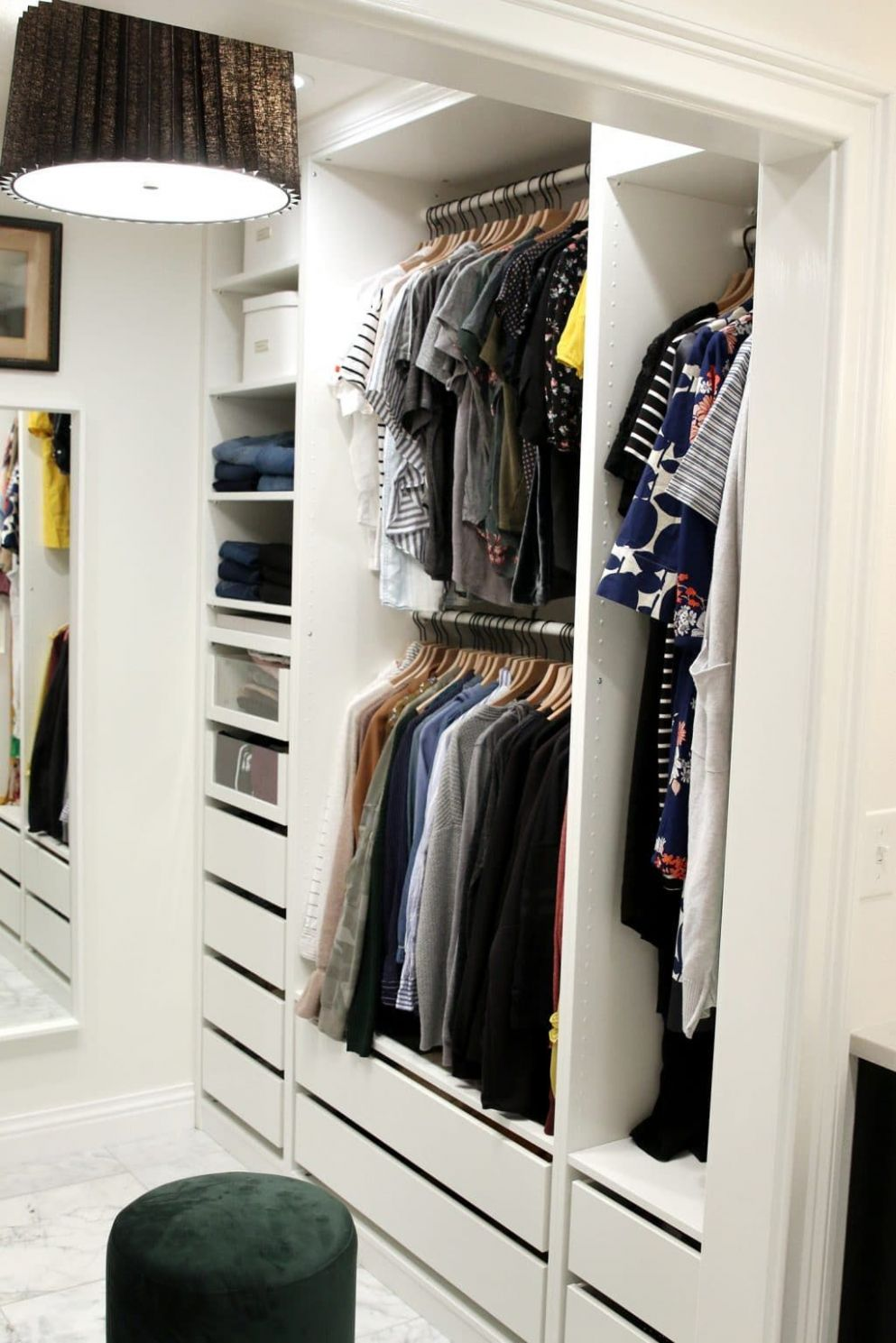 Before and After: Our Closet and the Ikea PAX Wardrobes That Made ...
