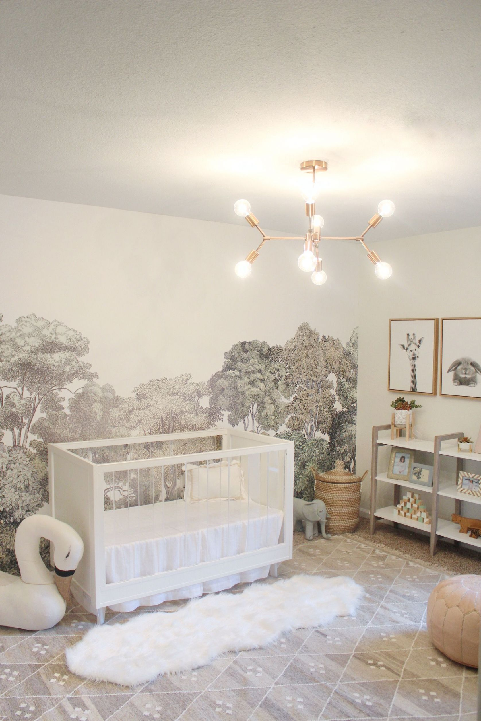 Bellewood | Nursery wall murals, Baby room decor, Nursery inspiration