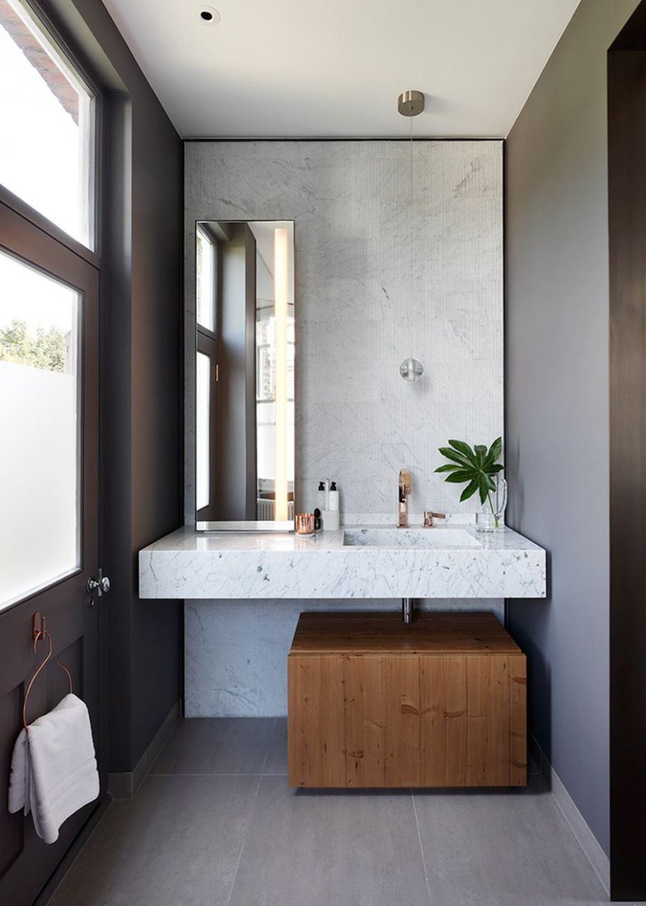 Bespoke joinery and minimal materials feature throughout the ..