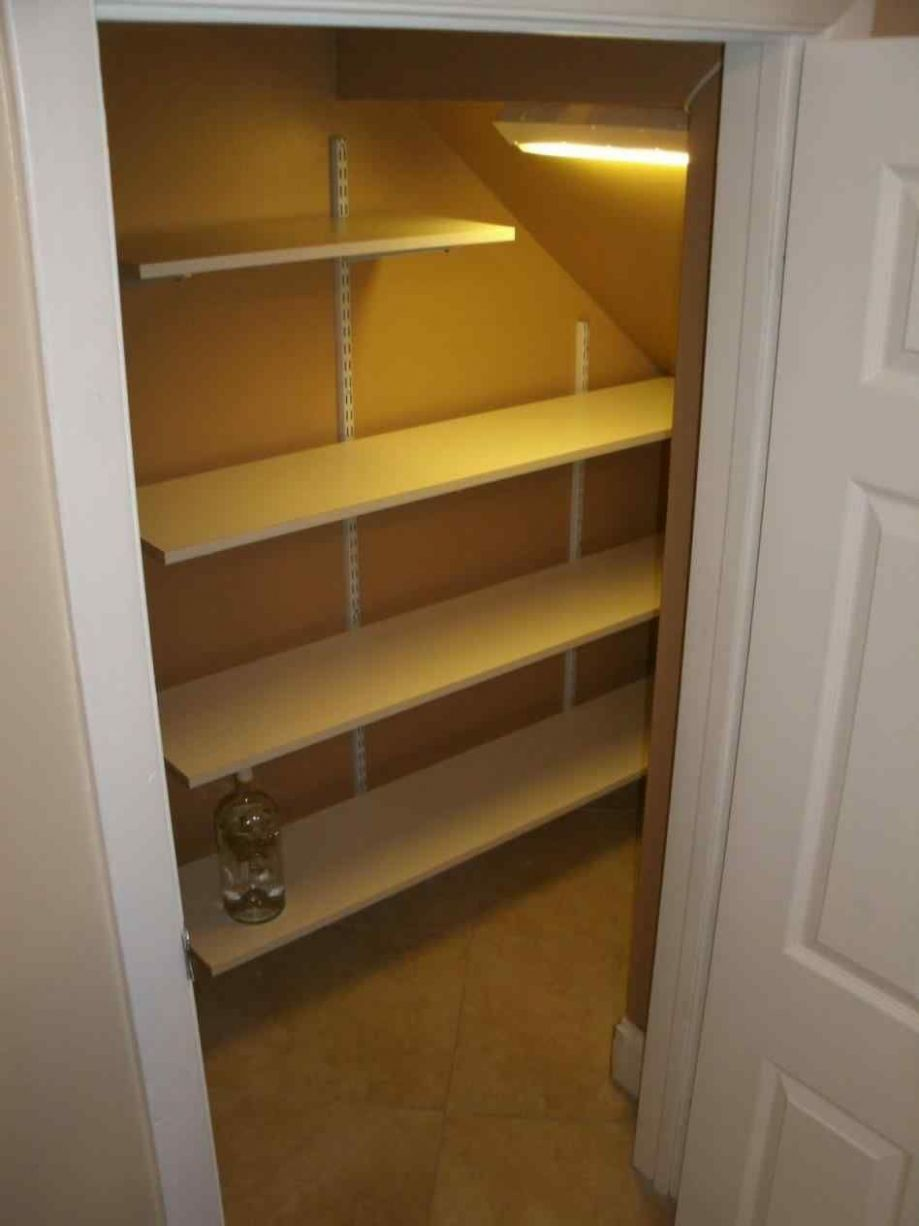 Best and Gorgeous Shelving For Under Stairs Closet Ideas | Closet ..