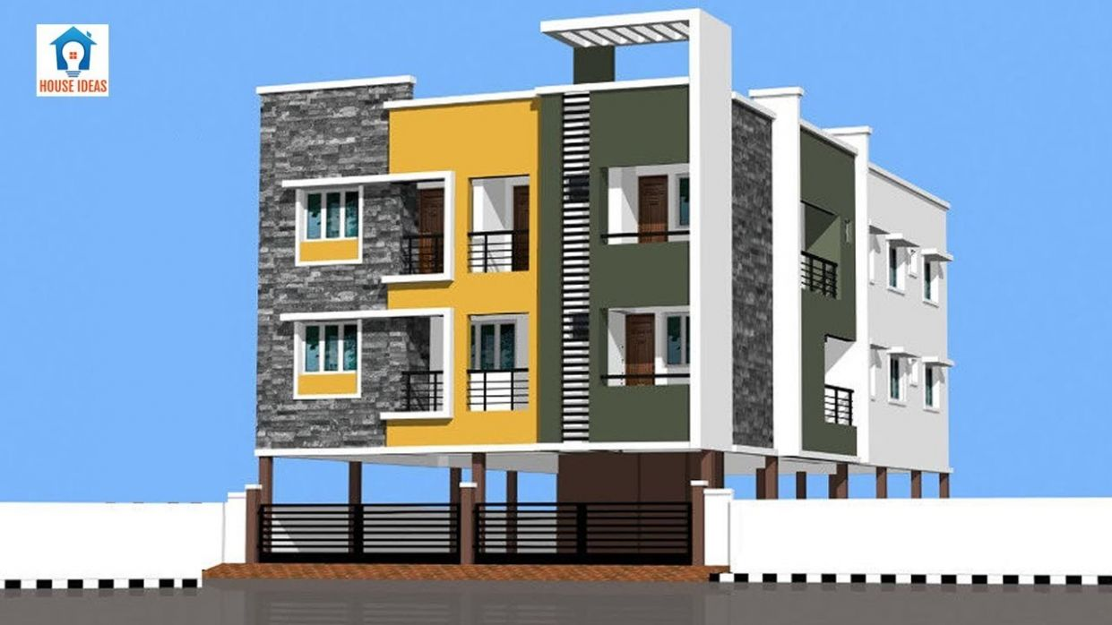 Best Apartment elevation design ideas | apartment front elevation designs - apartment design front