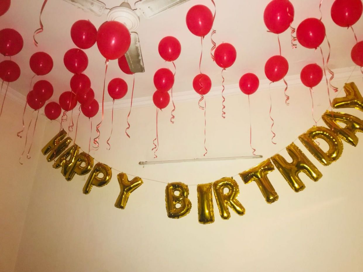 Birthday Decoration at Home in 8 | Birthday decorations at home ..