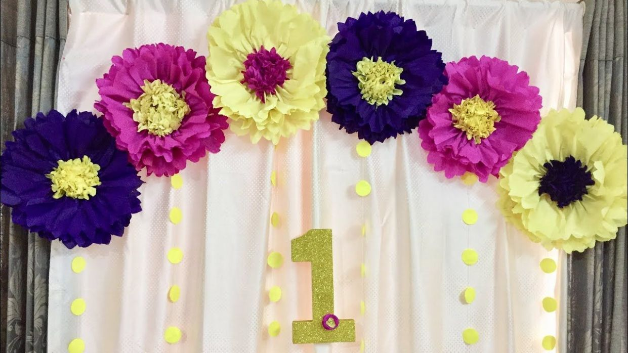BIRTHDAY DECORATION IDEAS | PARTY DECORATION | EASY BIRTHDAY ...