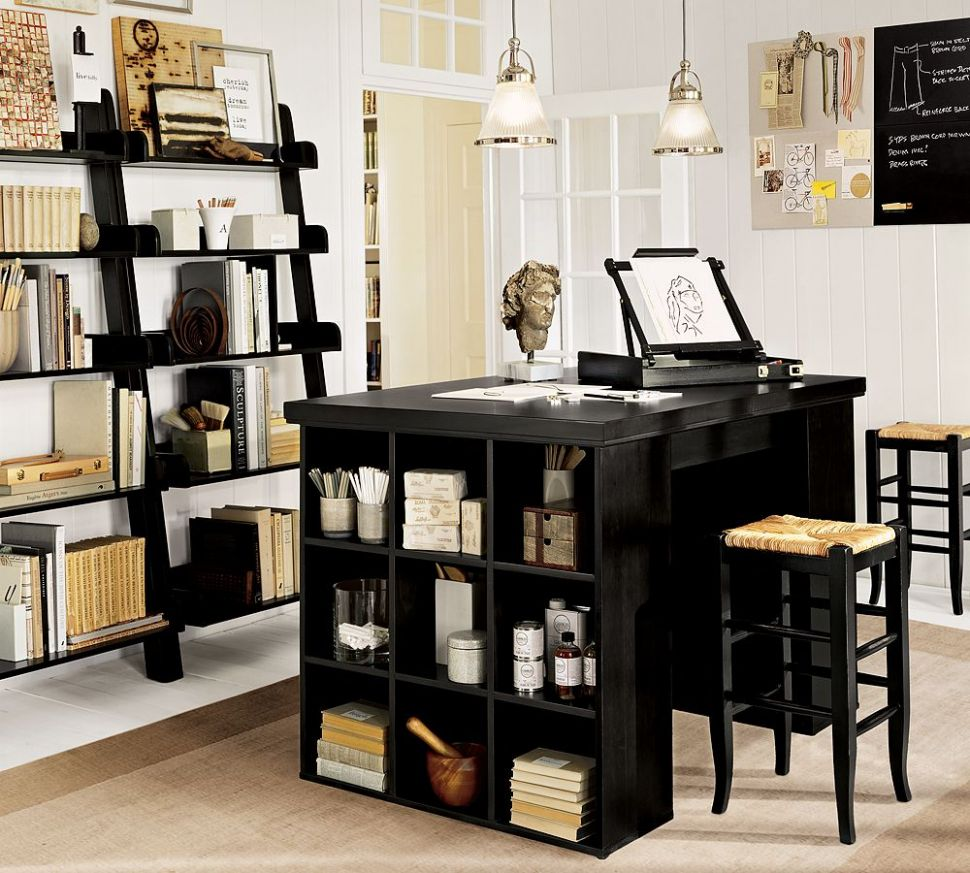 Black Home Office Furniture | House Made of Paper