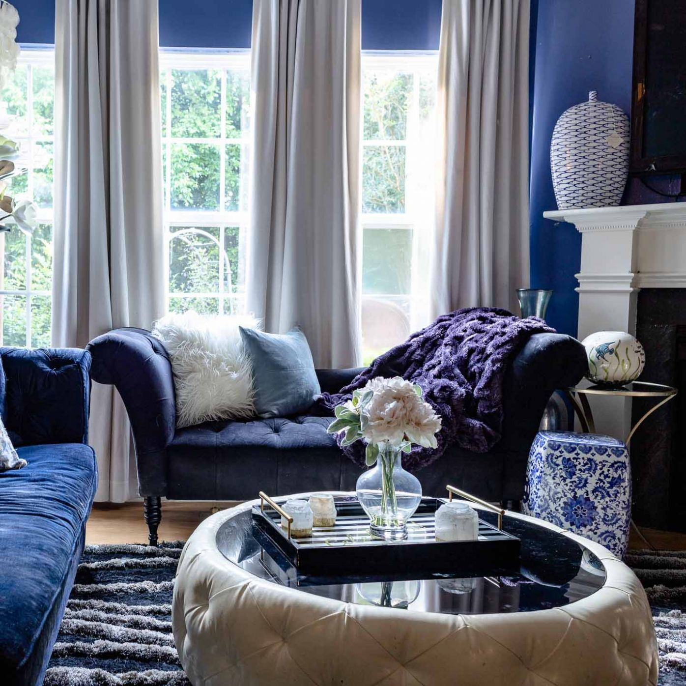Blue and White Decorating Ideas: 9 Ways To Decorate With Blue and ..