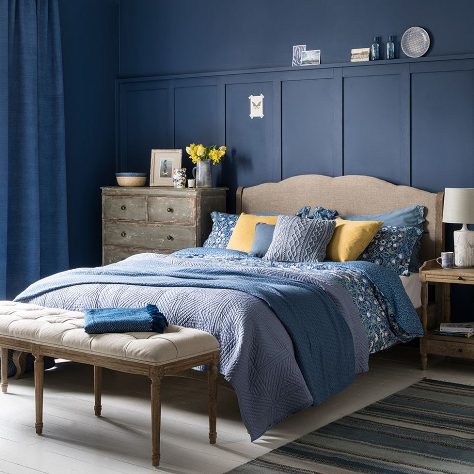 Blue bedroom ideas – see how shades from teal to navy can create a ..