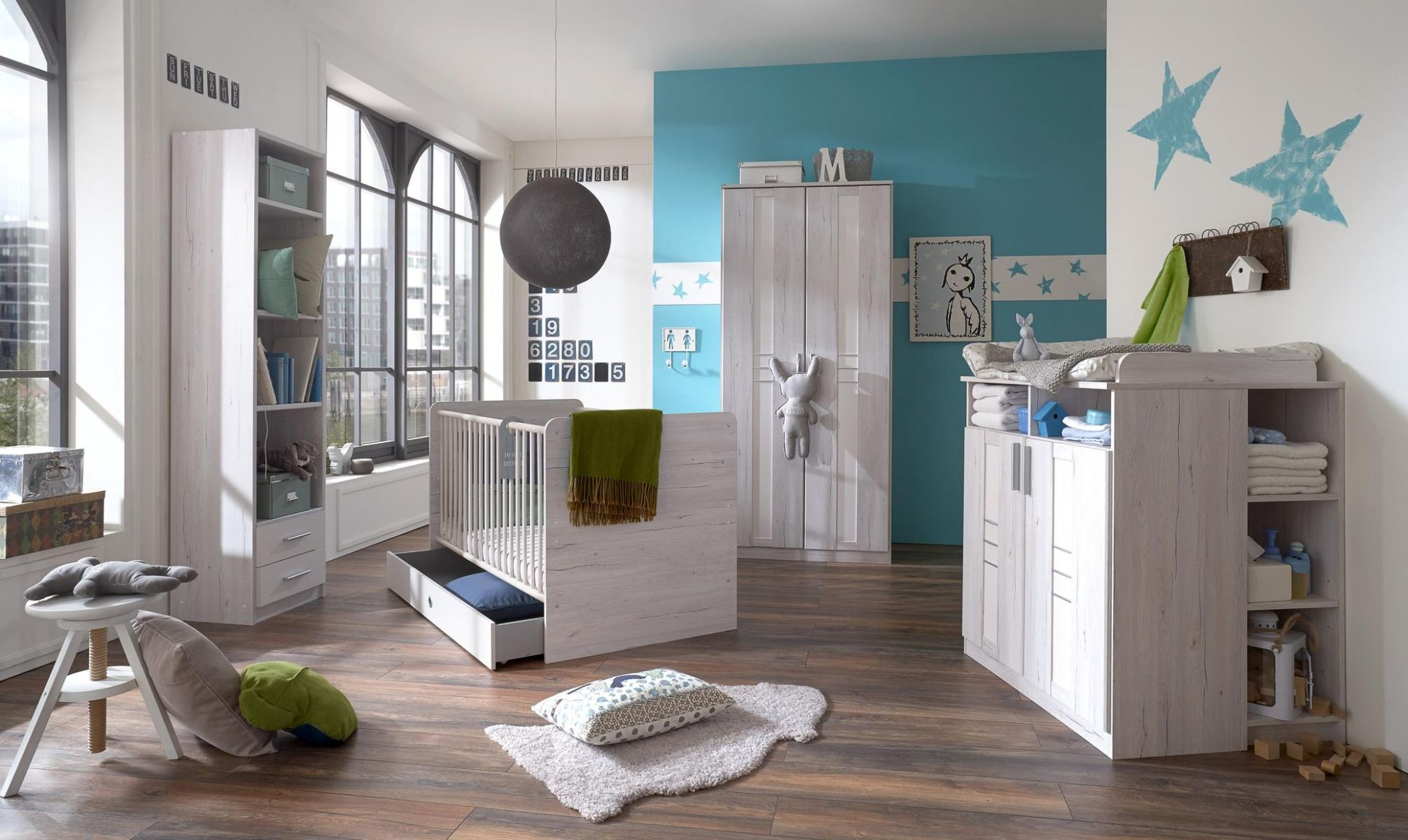 Bornholm Baby Room - Moebel Design Studio - baby room flooring