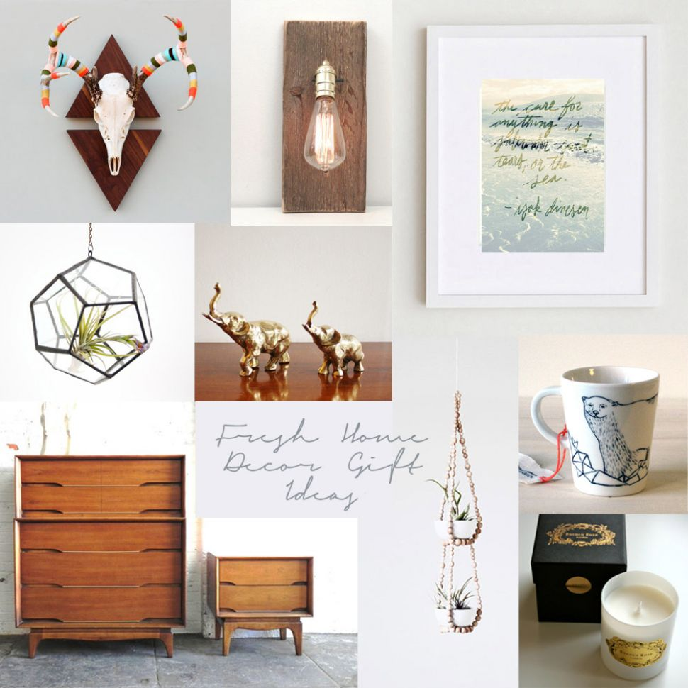 Bright July: Etsy Round Up - Fresh Home Decor Gift Ideas - home decor gifts