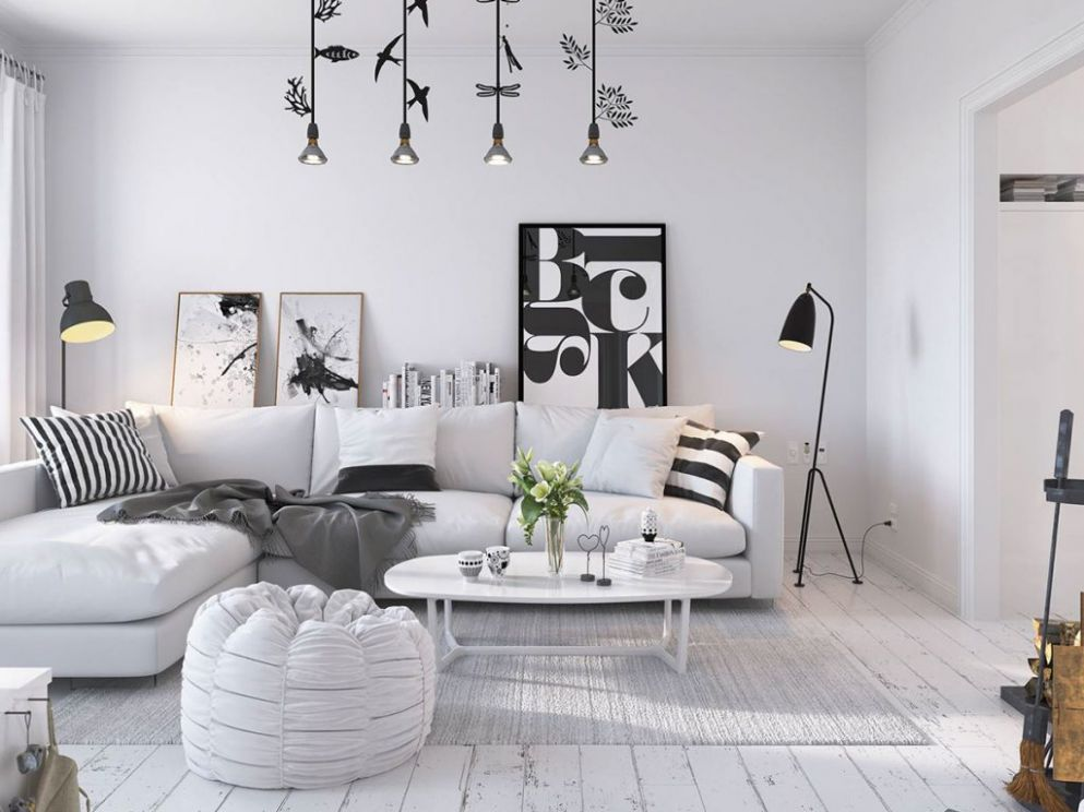 Bright Scandinavian Decor In 12 Small One-Bedroom Apartments