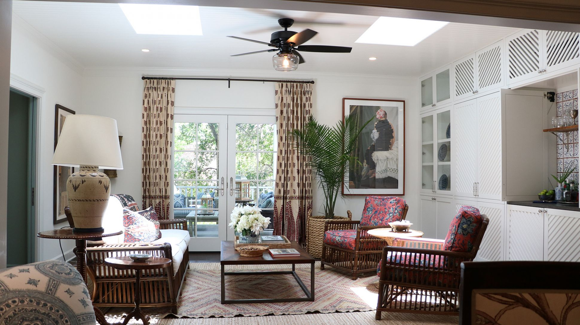 Brighten your space with sunroom ceiling fan ideas | Hunter fan blog
