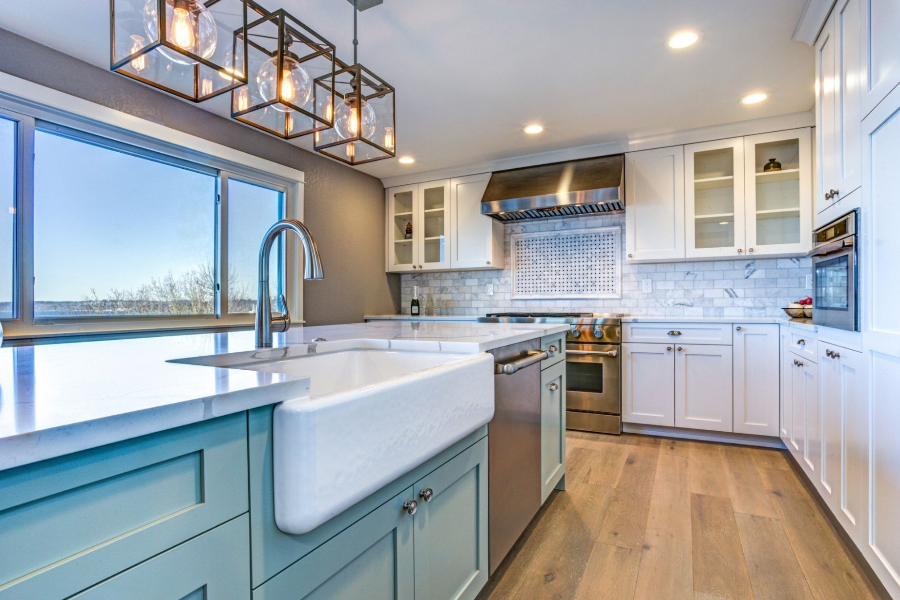 Bringing Blue into Your South Etobicoke Kitchen | Alair Homes ..