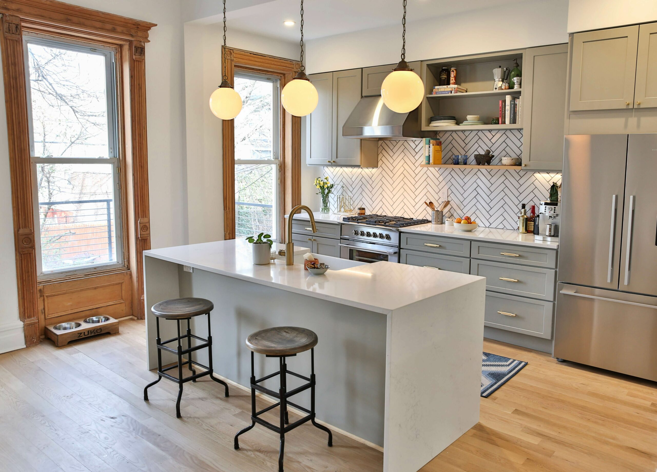Brownstone Boys: Top 12 Hacks for an Inexpensive Kitchen Renovation ..