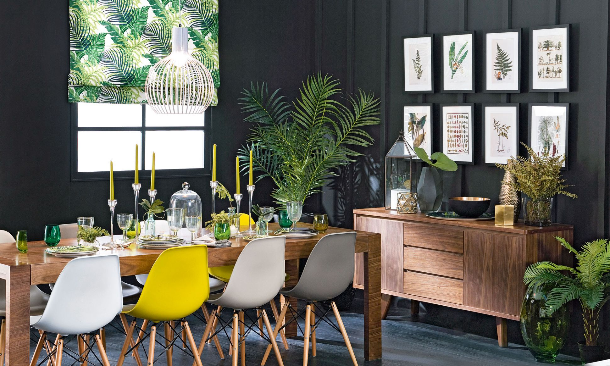 Budget dining room ideas – serve up a fresh look on a shoestring - dining room ideas yellow