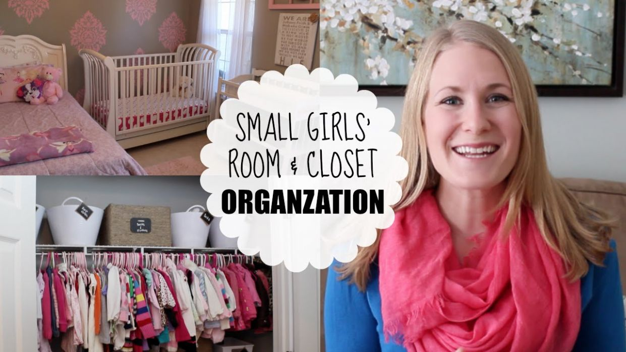 BUDGET ORGANIZING | Small Girls' Room & Closet