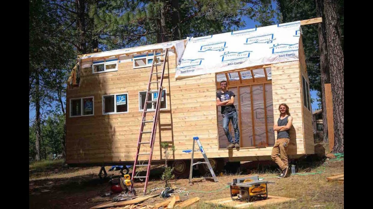 Building Your First Tiny House - tiny house builders